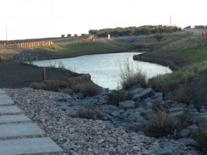 humedal sistema drenaje urbano